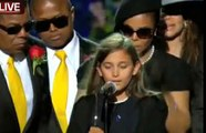 Michael Jackson Memorial: Paris Jackson speaks, says goodbye to father Michael