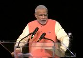 PM Modi's announcements on consular & visa issues at Madison Square Garden, New York