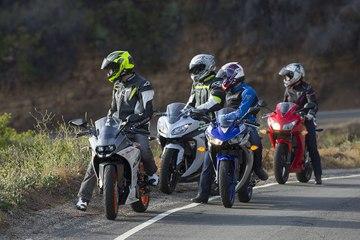 Honda Cbr300r Vs Kawasaki Ninja 300 Vs Ktm Rc390 Vs Yamaha Yzf R3