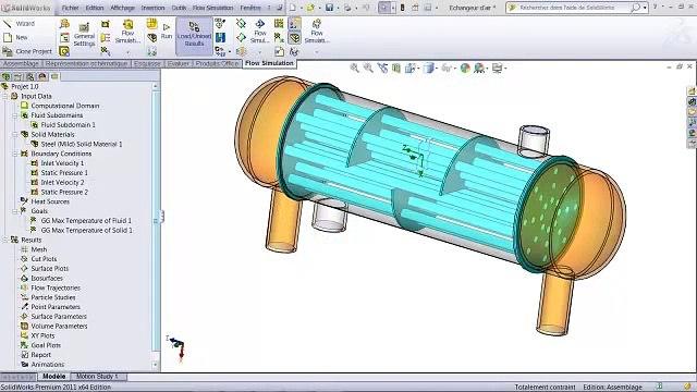 Démonstration SolidWorks Flow Simulation