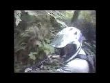 mountain bike trail through woods - awesome