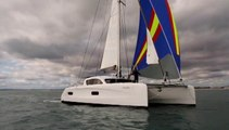 04/05/2015 - Essai de l'Outremer 45 video du chantier Outremer yachting