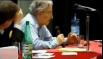 Chomsky is funny when asked about having 1 minute to ask George W. Bush anything he wants...