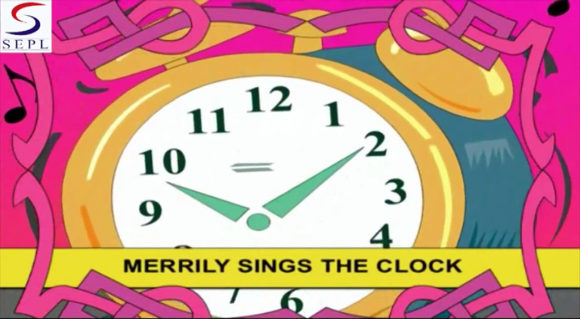 Tik Tok Tik Tok - Children Songs & Nursery Rhymes In English With Lyrics