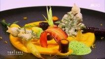 L'entrée à base de carottes de Philippe Etchebest