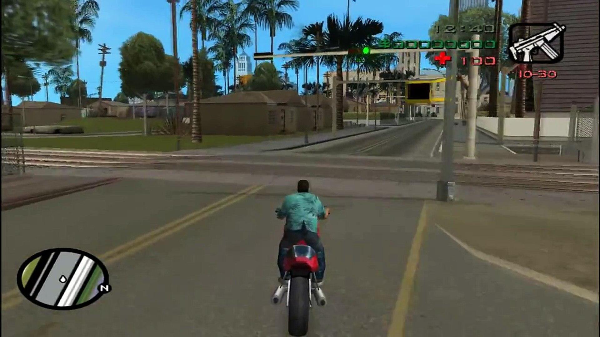 GTA Vice City [PC] - San Andreas Map in Vice City Mod (HD)