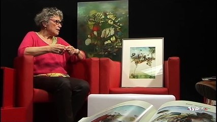 Typo l'hebdo Olympe Debarnot, artiste peintre