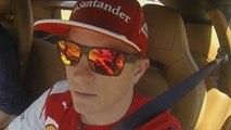 Räikkönen surprisingly talkative