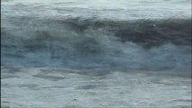 Pas de violent orage de grêle / Tempête de grêle à Biarritz aujourd'hui ? Place au surf