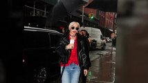 Rita Ora Braves The Rain To Perform New Single 'New York Raining'