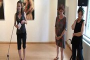 Verebics Katalin: Új képek -- kiállítás-megnyitó a KOGART Galériában