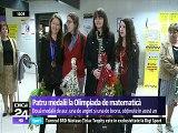 România. Olimpicele la matematică s-au întors acasă cu patru medalii