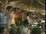 Aqib Javed 7-37 vs India Including a Hattrick (Shastri , Azharuddin, Tendulkar)
