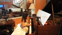 The Reason; Hoobastank; Piano Solo Played/Arranged and sung by Jasmine age 8 MVI_1430.MOV