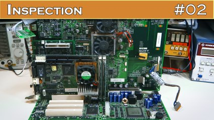 INSPECTION 02 : Décortiquer un TOOLkit Sony Playstation 2 (kit de développement)