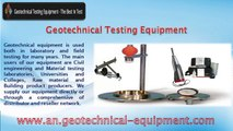Geotechnical Equipment, Material Testing Equipment