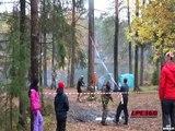 Leçon 1 : ne jamais courir dans la même direction vers laquelle l'arbre chute!