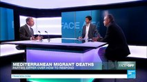 Mediterranean migrant deaths: French political parties differ over how to respond