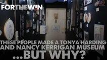Inside the Nancy Kerrigan-Tonya Harding museum