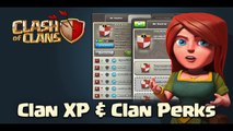 "Clash of Clans New FULL Level 1-10 Clan Perk List! New Clash of Clans ""Clan XP"""