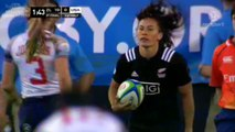New Zealand vs. USA - Highlights (Atlanta Womens Sevens Final 2015)