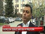 Türkiye'de Gerçek işsiz sayısı 4 milyon Ümidi kırılmış işsiz, işsizden sayılmıyor