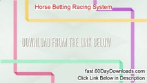 Horse Racing Jackpot System - video dailymotion