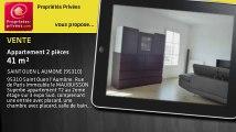 A vendre - appartement - SAINT OUEN L AUMONE (95310) - 2 pièces - 41m²