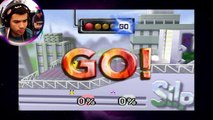 Noob VS Smash Bros - ERREI RUDE | Um NOOB em SUPER SMASH BROS. #BÔNUS 1