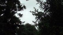 Close positive lightning strike ! Foudre très proche 600m ! (orage 29 avril 2014)