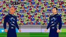 Bayern Munchen vs FC Porto 6-1 2015 ~ UEFA Champions League 2015 ~ Funny Cartoon [HD]