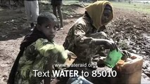 WaterAid - Give water  Give life