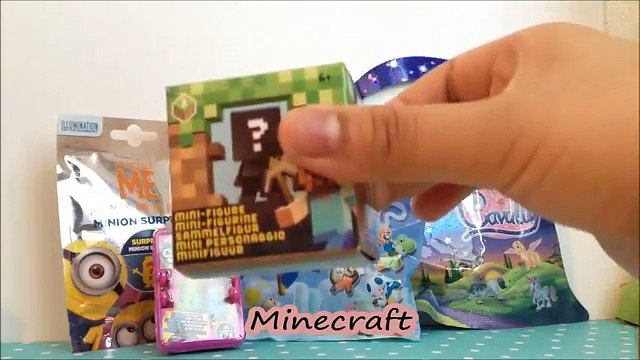 Blind Bags and Blind Boxes - Minecraft, Shopkins, Minions, Super Mario and Cavally
