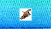 AUDEW Driftwood Underwater Tree Root Stump Trunk Decor Aquarium Fish Tank Ornament Review