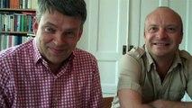 Jonas Gardell och Stefan Swärd i samtal om Jesus