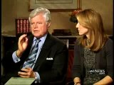 Charlie Gibson interviews Ted and Caroline Kennedy