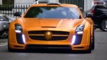 Mercedes-Benz SLS AMG & FAB Design & HAMMAN Tuning