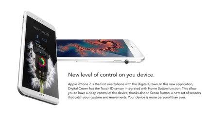 iPhone 7 en concept.