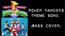 Power Rangers Theme Song (bass cover)