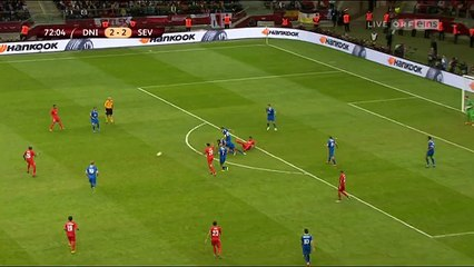 Carlos Bacca 2- 3 : Dnipro vs Sevilla