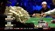 World Series of Poker 2008 WSOP Main Event Final table Peter Eastgate heads up Ivan Demidov