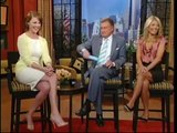 Katherine Heigl, Live! With Regis & Kelly Interview