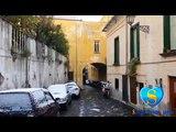 """ECCEZIONALE NEVICATA A SALERNO (""""Neve al Sole"""" di Pino Daniele) 31 dicembre 2014"""