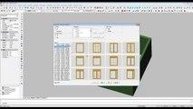 Arquitectura 3D | Diseño muros, puertas y ventanas en 3D (nivel 1)