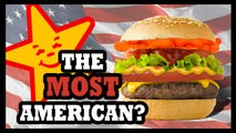 Carl's Jr. Flamin' Hot Cheetos Burger?!? - Food Feeder