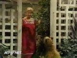 ALF Meets Raquel in the Backyard
