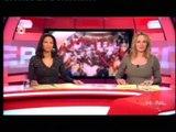 -30- Trendwatcher Richard Lamb met de 'Trends & Gadgets 2010' bij SBS6 Hart van Nederland