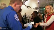 We're the TSA and You Can Count on Us! (to overreact to tiny threats and ignore big ones)
