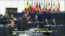 Nigel Farage | Somos gobernados por Grandes Compañías, Grandes Bancos y Grandes Burócratas