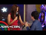 Lloyd recalls how he proposed to Shamcey